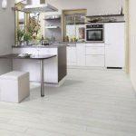 Grey Laminate Flooring Kitchen Kitchen Flooring Grey Trendy White Marble Counter...,  #Counte...