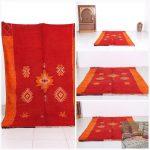 Hand made rug, 5.1ft x 8.2ft, Berber rug, Morocco kilim, Vintage rug, Wool rug, wool rug, Moroccan rug , wool rug, Berber rug