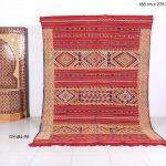 Handwoven rug, Kilim, 6.1ft x 9ft, Berber rug, Floor rug, Hand knotted rug, kilim rug, Moroccan decor