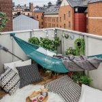 Hängematte Balkon und andere Einrichtungsideen - 15 Beispiele, wie Sie ein kleines Paradies kreieren