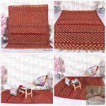 Hassira, Vintage Berber rug, Tribal Moroccan rug, Straw fiber rug, 6.4ft x 8.4ft, Vintage area rug, Straw rug