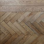 Herringbone Woods Floor Chevron Pattern