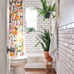 Home Interior Design — Subway tile and wooden floor