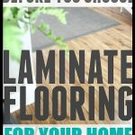 How to choose laminate flooring that youll really love  Great tips to read befor...