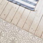 Küchen-Fußboden Holz und Fliesen - #Fliesen #Holz #KüchenFußboden #schicke #...