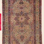 LAVER KIRMAN, Southeast Persian Antique Rug - Claremont Rug Company