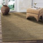LR Home Hand Loomed Natural Fiber Sonora Gray Jute/ Chenille Rug - 9' x 12' (9' x 12' - Grey), Brown