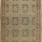 Large Antique Persian Bakhtiari Carpet BB6047 by DLB