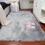 Large Faux Sheepskin Rug Super Size Soft Chair Sofa Seat Pad Floor Carpet Rugs #ebay #Home & Garden