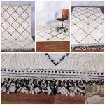 Large Moroccan rug, 5.2ft x 8.9ft, Hand knotted rug, Soft Wool rug, Azilal rug, Moroccan berber rug, Beni ourain rug
