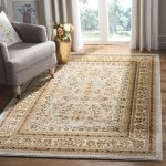 "Lyndhurst Collection 5'-3"" X 7'-6"" Rug in Grey And Beige - Safavieh LNH331G-5"