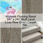 "Mohawk Flooring Basel 24"" x 24"" Multi Level Loop Carpet Tile,  #Basel #Carpet #Flooring #leve..."