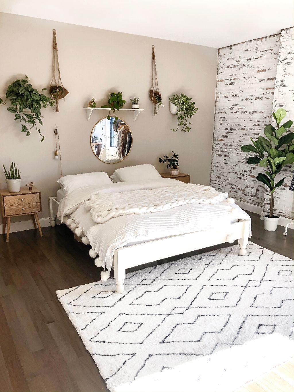 My Boho Minimalist Bedroom Reveal