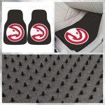 "NBA - Atlanta Hawks 2-pc Carpeted Car Mats 17""x27"" $27.99 sdsmarket.com Show you..."