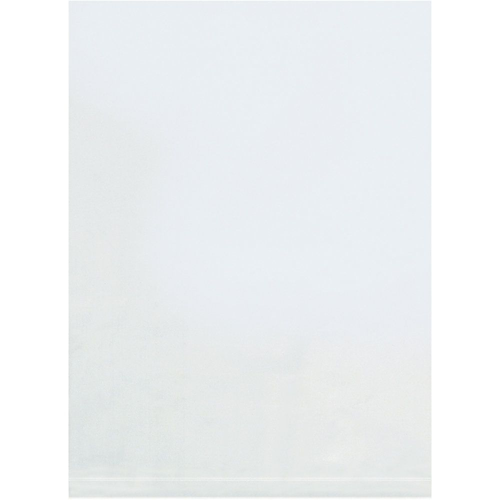 Office Depot Brand 3 Mil Flat Poly Bags 32″ x 44″, Box of 100