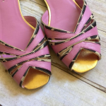 Oh Deer! Ponyhair & leather peep toe flats Oh Deer is what they will scream as r...