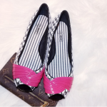 Oh Deer Sequence Flats Pink Black White 8.5 Shoes Oh Deer is what they will scre...