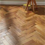 Oxford Herringbone Golden Smoked Oak Engineered Wood Flooring