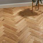 Oxford Herringbone Natural Oak Engineered Wood Flooring