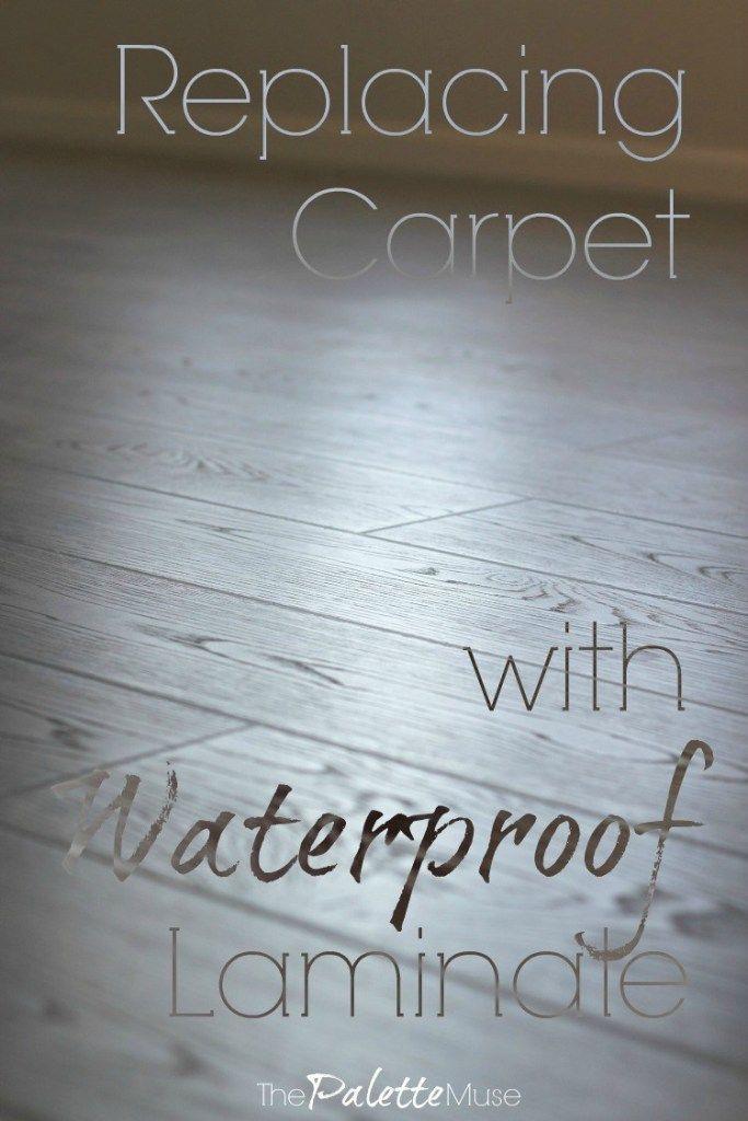 Replacing Carpet with Waterproof Laminate Flooring