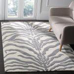 Roloff Hand-Tufted Wool Ivory/Dark Gray Area Rug