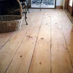 Rustic Eastern White Pine wide plank floor #woodflooringwhite