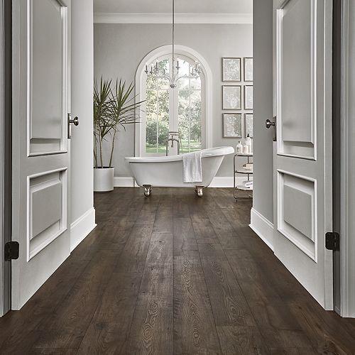 Rustic Smoked Chestnut Pergo Portfolio +WetProtect Laminate Flooring   PERGO® F…