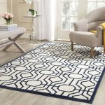 Safavieh AMT416M-9 Amherst Indoor / Outdoor Power Loomed Polypropylene Area Rug;...
