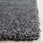 Safavieh California Shag SG151-8484 Dark Grey Rug