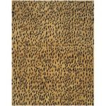 "Safavieh Soho Hand-Tufted Wool Yellow/Black Area Rug Rug Size: Rectangle 7'6"" x 9'6"""