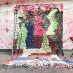 Special designed Ben ourain rug 5x8 - SOFT Moroccan rug - Berber carpet - 100% Wool Bohemian rug - Tribal rug - Teppich Tapis maroc