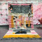 Stunning Moroccan Boujad Rug 5x8 Moroccan Woolen Rug - Handmade Berber Rug - Gorgeous Berber carpet - Oriental Moroccan Rug - Boujad Rug