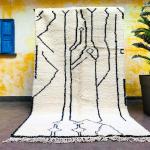 Stunning Morocco rug 5x8 - Moroccan Berber Carpet - Berber rug - Beni Ourain carpets - Area rug - Tapi - Tapi marocain - Beni Ouarain - Tapi