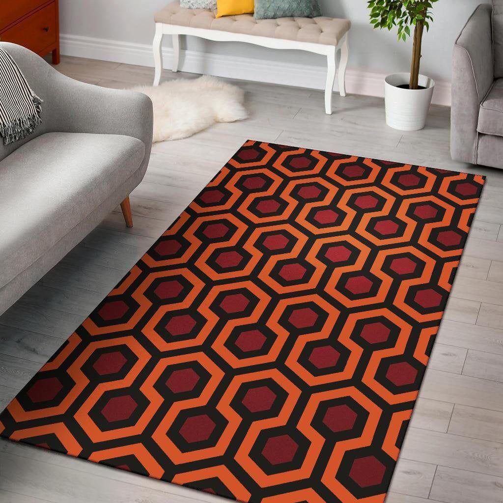 The Shining Overlook Hotel Carpet Area Rug   Halloween Carpet, Stanley Kubrick, The Shining Carpet R