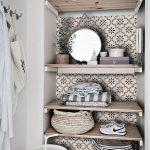 Tile Decals - Tiles for Kitchen/Bathroom Back splash - Floor decals - Marta Tile Sticker Pack in Taupe