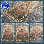 Tribal Rug | Turkish Rug | Vintage Rug | Area Kilim Rug | Handmade Wool Rug | 6 x 3,2 ft = 184 x 99 cm