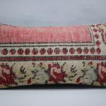 Turkish carpet pillow sofa pillow ethnic pillow 10x20 decorative rug pillow cushion cover ethnic pillow boho pillow 0927
