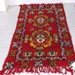 Vintage Moroccan rug, Berber rug, 3ft x 5.3ft, Boujaad rug, Bohemian , beni mguild, Azilal rug, Hand knotted rug, Knotted rug, bohemian rug