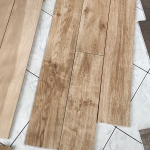 Why We Chose Wood Look Tile for Our Floors | brepurposed