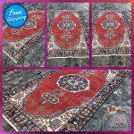 Wool Kilim Rug Turkish Vintage Handmade Area Rug Tribal rug 206 x 112 cm = 6,7 ft x 3,6 ft