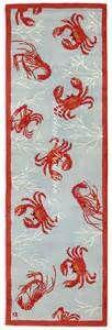 crabs nautical rug related items white whale nautical rug rr08459 ...